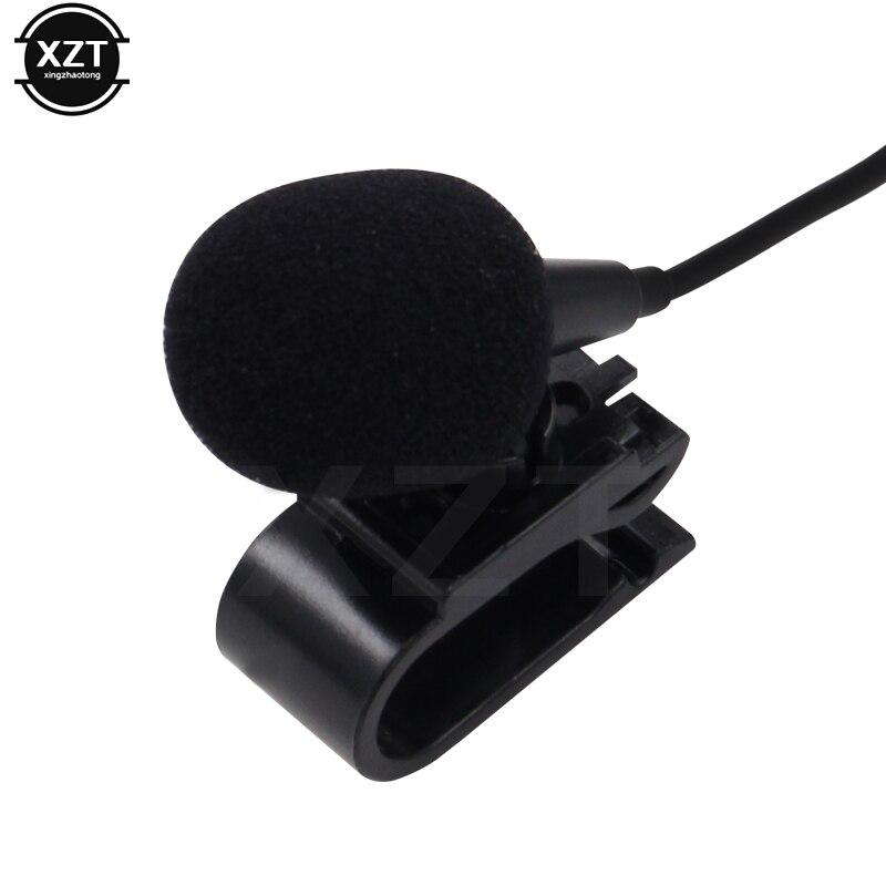 Мини Профессиональный автомобильный аудио микрофон 3,5 мм разъем Микрофон Стерео мини проводной внешний микрофон для ПК Авто DVD Радио
