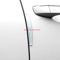 4Pcs Car Door Edge Guard Strip Scratch Protector Anti collision Corner Bumper Protective Strip For Skoda Kodiaq Car Stylings
