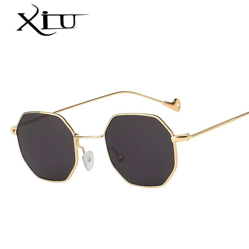 XIU Retro Vintage Multi Shades Occhiali Da Sole Donne Degli Uomini Del Progettista di Marca Occhiali Da Sole di Modo di Qualità di Lusso Eyewear UV400