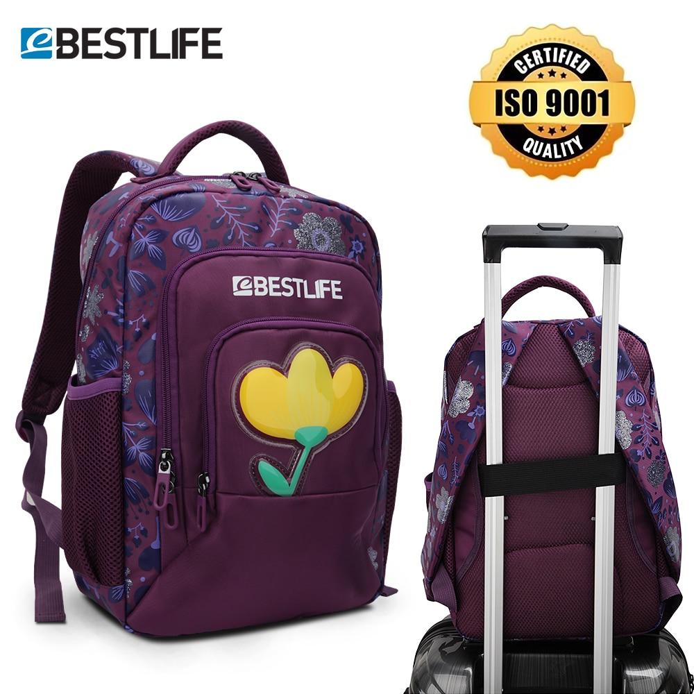 BESTLIFE Girls School Bags Schoolbag Floral Print Student Bag Children Backpack For Teenager Kids Backpacks Satchel High Quality