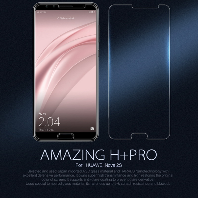 For Huawei Nova 2s Tempered Glass Nillkin Amazing H+Pro Screen Protector 2.5D Curve Protective Film for Huawei Nova 2s glass
