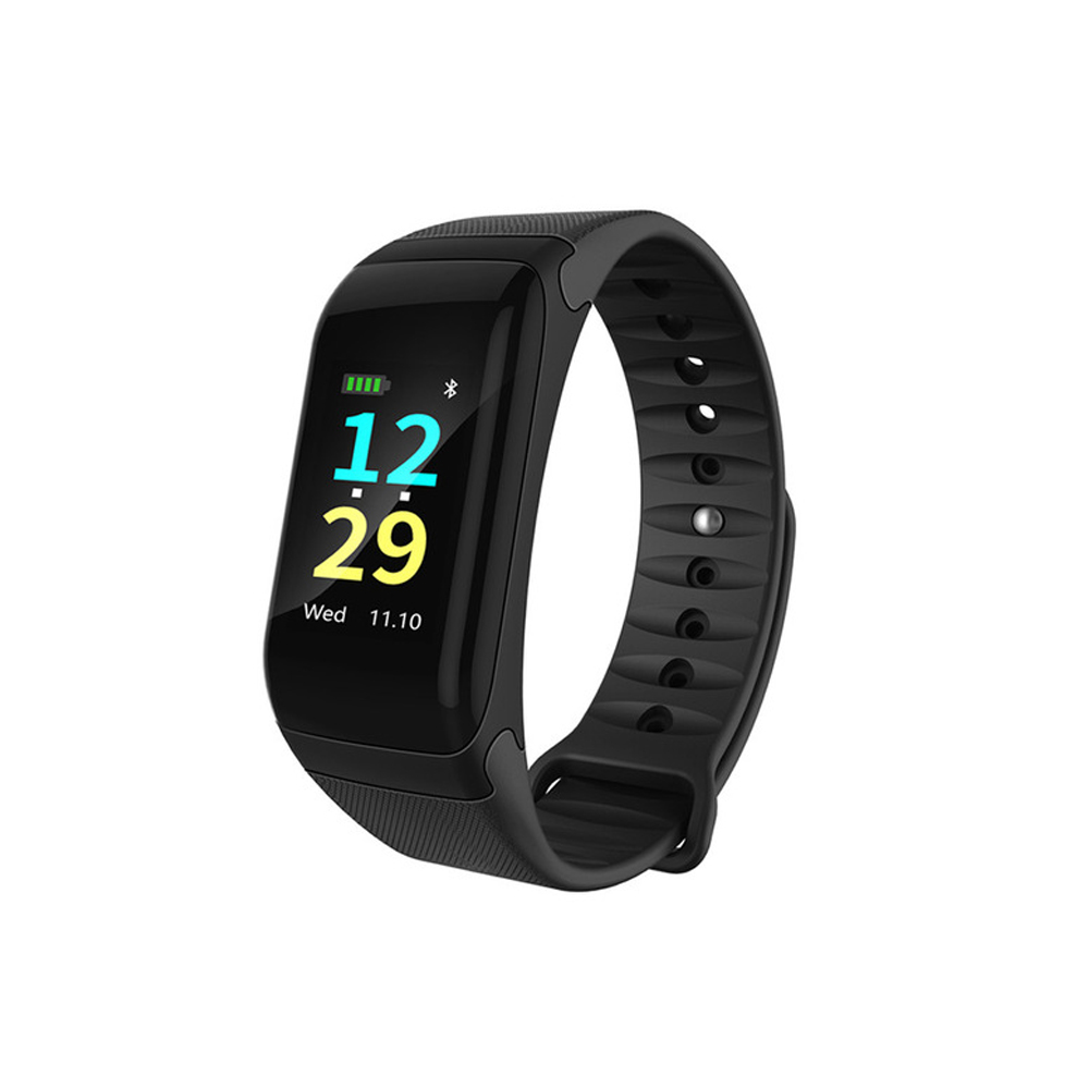 F601 Smart Bracelet Waterproof IP67 Passometer Fitness Tracker Color LCD <font><b>Bluetooth</b></font> Smart band Blood Pressure IOS Android Phone