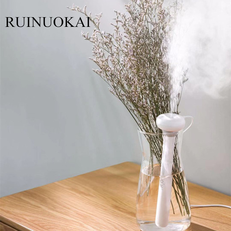 RUINUOKAI White Dismountable Donut USB Humidifier Portable Ultrasonic Mist Maker Aroma Diffuser For Home Office Air Humidifiers