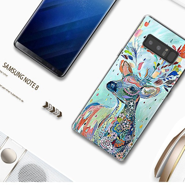 Phone Cases For Samsung Galaxy Note 8 Case Cover Silicone Cute Pattern Cover For Samsung Note 8 Case For Galaxy Note 8 Shell