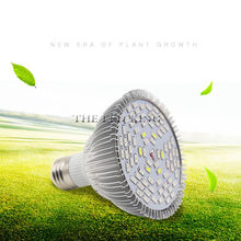 2019 80W Full Spectrum LED Grow Light E27 Lamp for Garden Flowering Plant Hydroponics System AC 85-265V Grow Box(China)