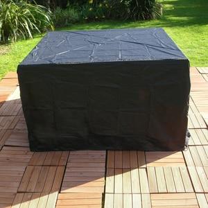 Image 5 - 12 größen Wasserdicht Terrasse Garten Möbel Abdeckungen Regen Schnee Stuhl abdeckungen für Sofa Tisch Stuhl Staub Proof Abdeckung