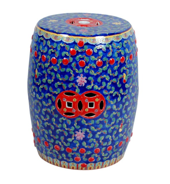 Awe Inspiring Famille Rose Chinese Ceramic Stool Home Decoration Shoes Changing Stool Antique Porcelain Chinese Garden Stools In Toilet Seats From Home Improvement Pabps2019 Chair Design Images Pabps2019Com