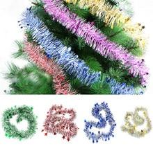 Colorful Garland Bar Christmas Tree Decoration Xmas Party Hanging Ornaments