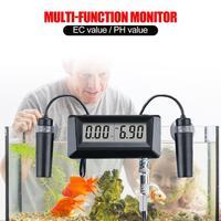 EC Conductivity Monitor PH Meter Water Quality Monitor Tester for Aquarium