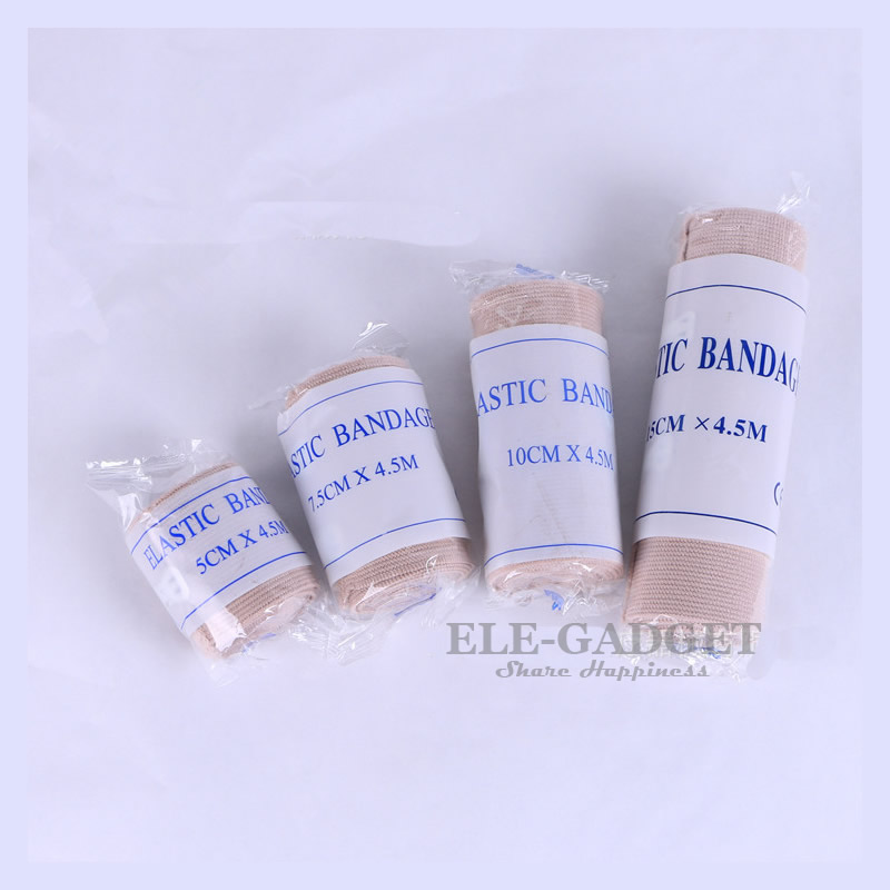 1-Roll High Elastic Wound Dressing Bandages For Outdoor Sports Work Sprain Treatment Bandage First Aid Kits Accessories