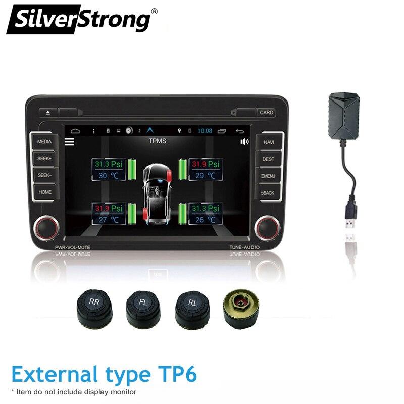 car Tire press monitor tire temperature monitor TPMS android usb port - - - -