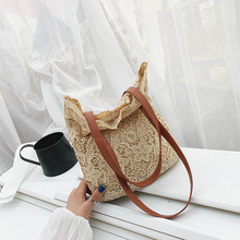 Ladies Bags Fashion Literary Lace Hollow Versatile Handbag Shoulder Clutch taschen women bolsa masculina sac femme bolso mujer