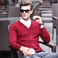 New style autumn cardigan men brand sweater men casual sweaters V-Neck collar pullover men business brand clothing
