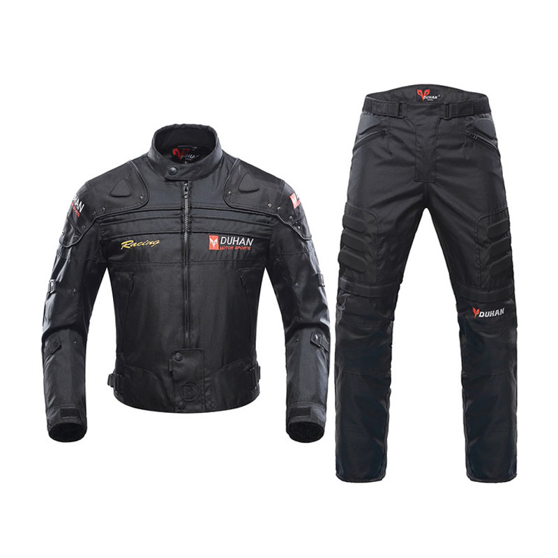 Motorcycle Jacket Windproof Racing Jacket Body Armor Riding Pants Clothing Set Motorcycle Cycling Motocross Off Road