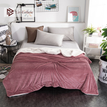 Liv-Esthete 2019 Hot Sale Thick Sherpa Throw Gray Blanket Weighted Flannel Queen King Adult Summer For Bed Or Couch 1PCS