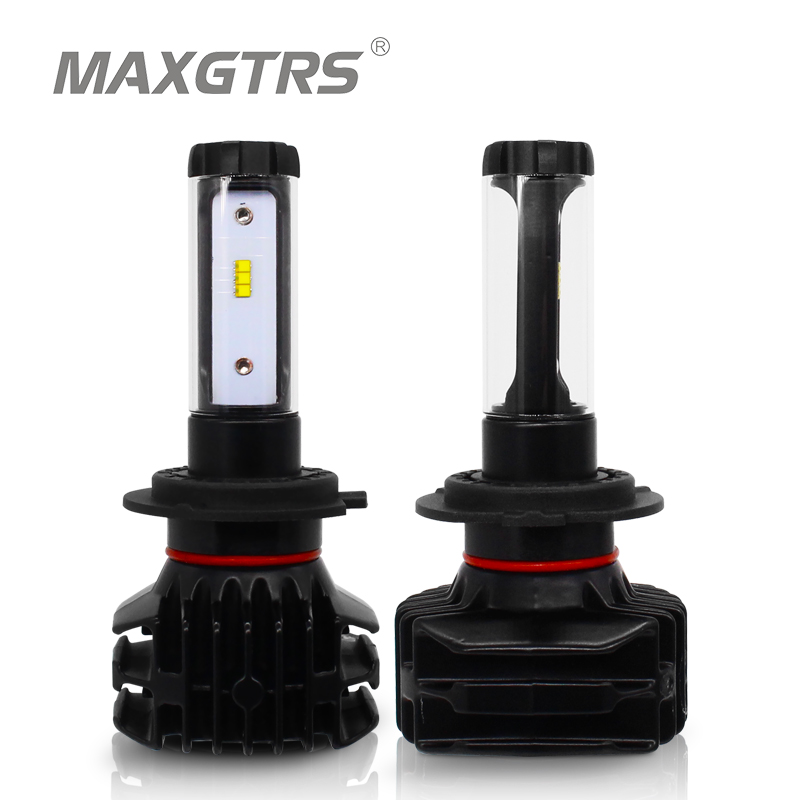 2x H7 H4 LED H11 9005 HB3 9006 HB4 H8 H13 H16 EU 9012 9000Lm Car Led Headlight Blubs Lamp 6000K 50W Auto Light Headlamps DC12V