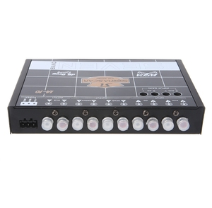 Image 5 - OOTDTY Car Audio 7 Band Equalizer Modified Car EQ Equalizer Class Fever Audio Car Tuner M30