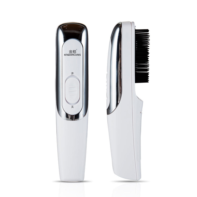 Image 2 - Hair care Red light laser hair growth Comb Hair brushes grow Anti hair Loss Therapy regrowth device machine infrared massager-in Electric Hair Brushes from Home Appliances