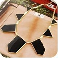2015 New Fashion Jewelry Gold Plated Geometry Choker Neckalce For Women 2015 New Statement Collar Necklaces Wholesale Price