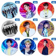Kpop GOT7 Keras Membawa Dada Pin Jackson BamBam Bros JB JR Mark Han Sunhwa Badge 2019(China)