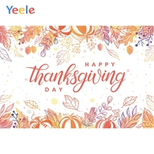 Yeele Thanksgiving Family Harvest Party Pumpkin Nut Photography Backdrops Personalized Photographic Backgrounds For Photo Studio