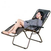 Cadeira dobrável ao ar livre portátil almoço cochilo casa de lazer cadeira de praia cadeira de encosto|beach backrest|chair backrest|chair chairs -