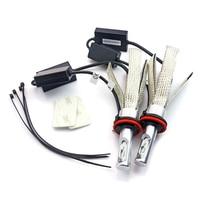 8C H15 Car Led Headlight Bulb 80W 8000LM Canbus Epistar Chip 12V External Light 6000K White