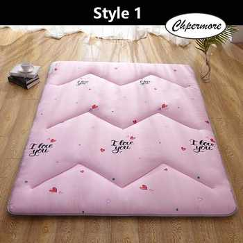 Chpermore sanding M quilting Mattress Keep warm Tatami Foldable Creative pattern Mattresses Bedspreads King Queen Twin Size - DISCOUNT ITEM  35% OFF All Category