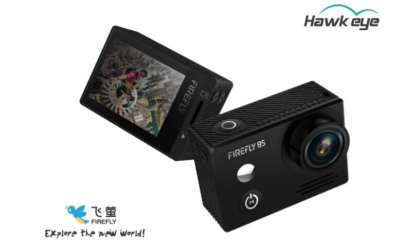 Hawkeye Firefly 8S 4K 90 Degree Super View Bluetooth FPV Sport Action Cam FPV HD WiFi Camera For RC Toys
