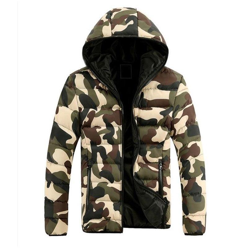 2018 Neue Männer Winter Jacke Mode Mit Kapuze Thermische Unten Baumwolle Parkas Männlichen Casual Hoodies Marke Kleidung Warme Mantel M-3xl Up-To-Date-Styling