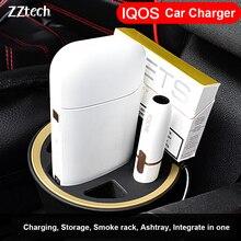 Оригинальная электронная сигарета, многофункциональное автомобильное зарядное устройство для IQOS 2,4 IQOS 2,4 Plus, интеллектуальное зарядное устройство для электронной сигареты, usb зарядное устройство