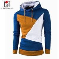 017 New Fashion Hoodies Brand Men Stitching Sweatshirt Male Men'S Sportswear Assassins Creed Hoody Hip Hop Moletom Winter Hoodie