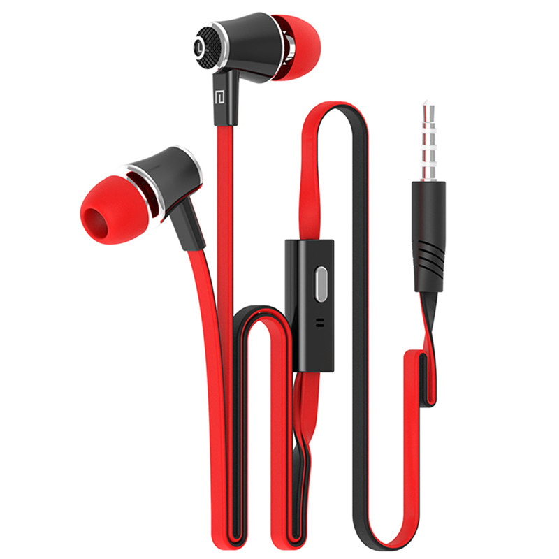 New JM21 earphones with Microphone Super Bass HIFI 3.5mm In-Ear Earphone Headset For Mobile Phone earphone smartphone