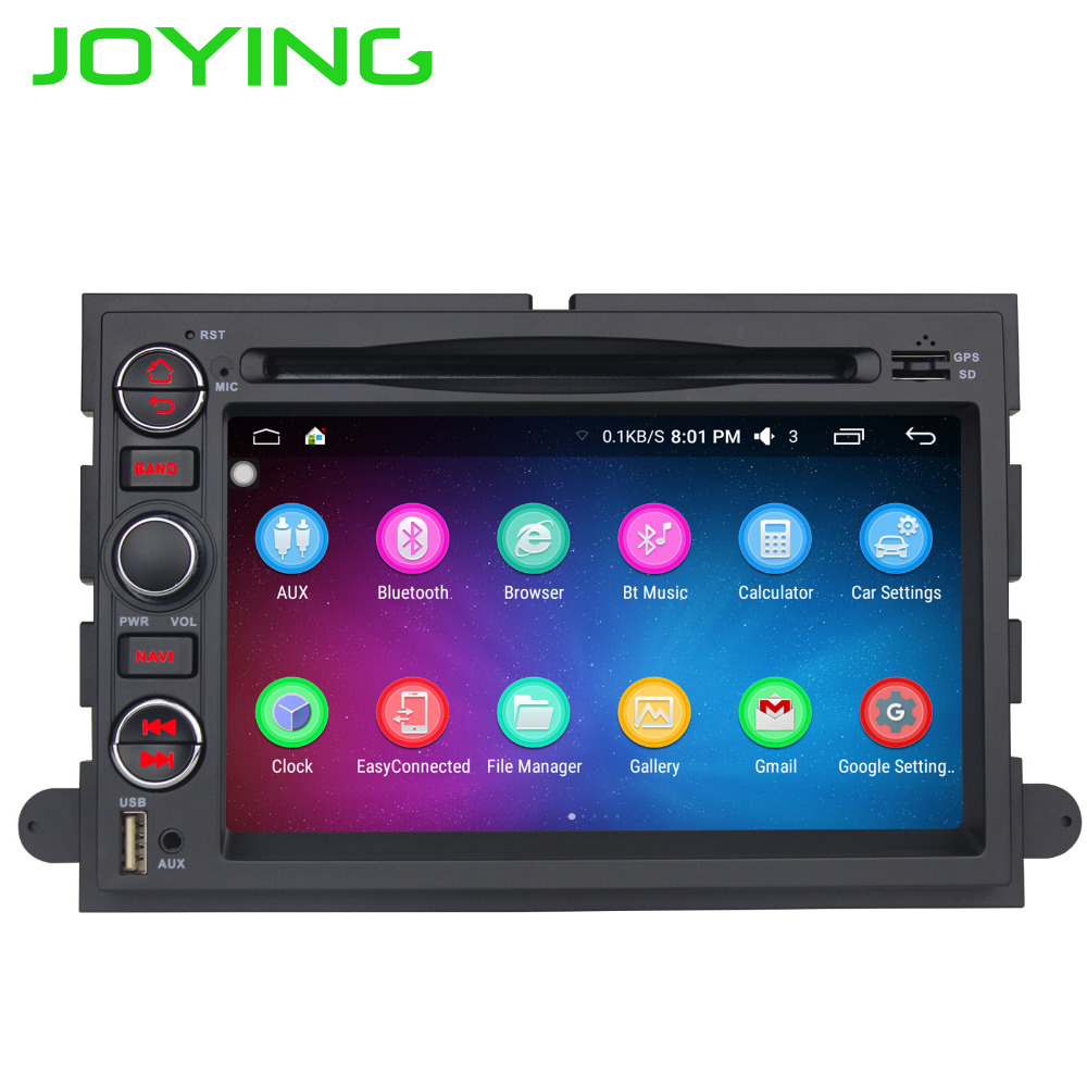 Joying 7'' 2 Din Android 6.0 Car Radio Stereo for Ford F-150/F250/350/450/550 GPS Player Head Unit for Ford Escape Focus Mustang android 6 0 1 octa core capacitive car pc dvd radio gps for ford focus fusion explorer expedition f150 f500 escape edge mustang
