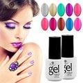 Saviland UV Gel Polish Soak-off LED UV nail Gel Color Hot vanishes Nail Art Gel Nails Polish 7ML Long-lasting 58 colors