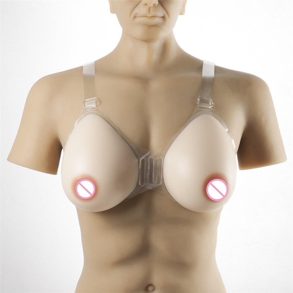 Ультра мягкий силиконовый бюстгальтер для груди набор 2400 г/пара белый Трансвестит формы сосков груди искусственная грудь интимное белье