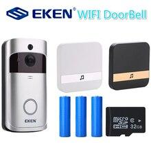 V5 Smart IP WIFI Doorbell Video Intercom WI-FI Door Phone Door Bell Camera For Apartments IR Alarm Wireless Security Camera