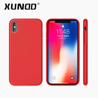 XUNDD Beautiful Soft Liquid Silicone Case For IPhone X 5 8inch Full Protection Case Phone Hoesjes
