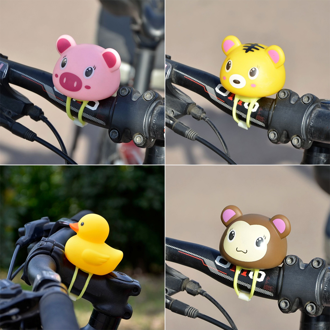 Aliexpress.com : Buy Hot Rubber Kids Bike Bell Light Bike