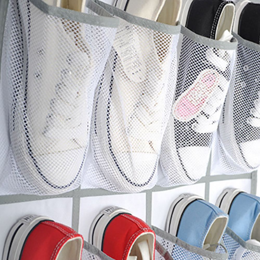 24 Pocket Hanging Shoe Organizers for Door and Wall Bag for Assemble the Shoes in Provided Hooks 3