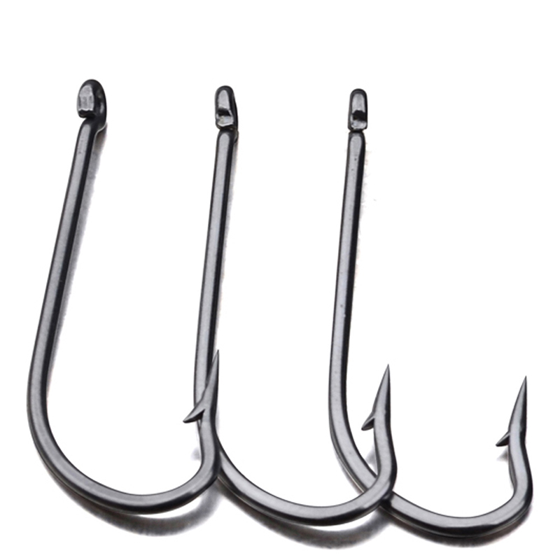 Hot Sale 50 Pcs Fishing Hooks JIG Hook Jig Big Fish Hook 9255-1#-8/0# JIG Hook