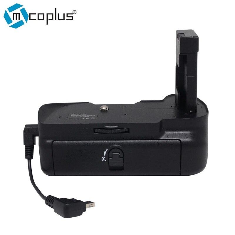 Nikon DSLR D5100 카메라 용 Mcoplus BG-D5100 수직 배터리 그립 홀더 팩 (Meike MK-D5100)