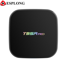 Amlogic S912 Octa core T95R PRO Android TV Box 2 GB RAM 16 GB ROM Android 6.0 TV Box 2.4G/5G WiFi Bluetooth 4 K Smart Set Top caja
