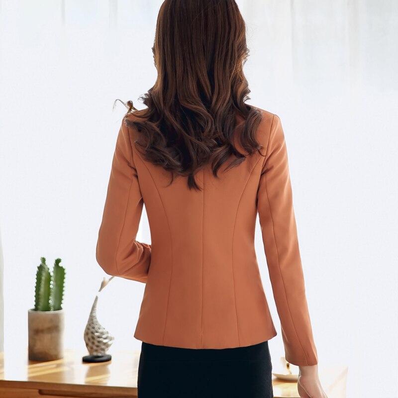 Fashion Women Blazer New 2018 Spring Autumn Outerwear Slim blazers and jackets Female Blaser Feminino mujer femme office blazer