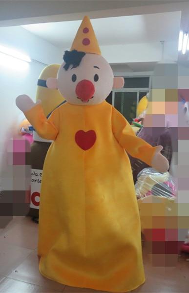 Chapeau jaune garçon mascotte Costume adulte personnage Costume Cosplay mascotte Costume vacances spécial vêtements
