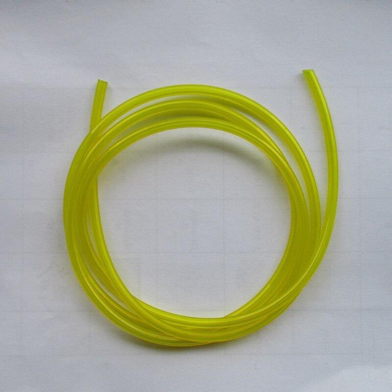 Kraftstoff Schlauch Benzin Rohr 1m x 3mm ID Strimmer Kettensäge Brushcutter Hedgetrimmer 5mm String Trimmer Teile Accssories outdoor