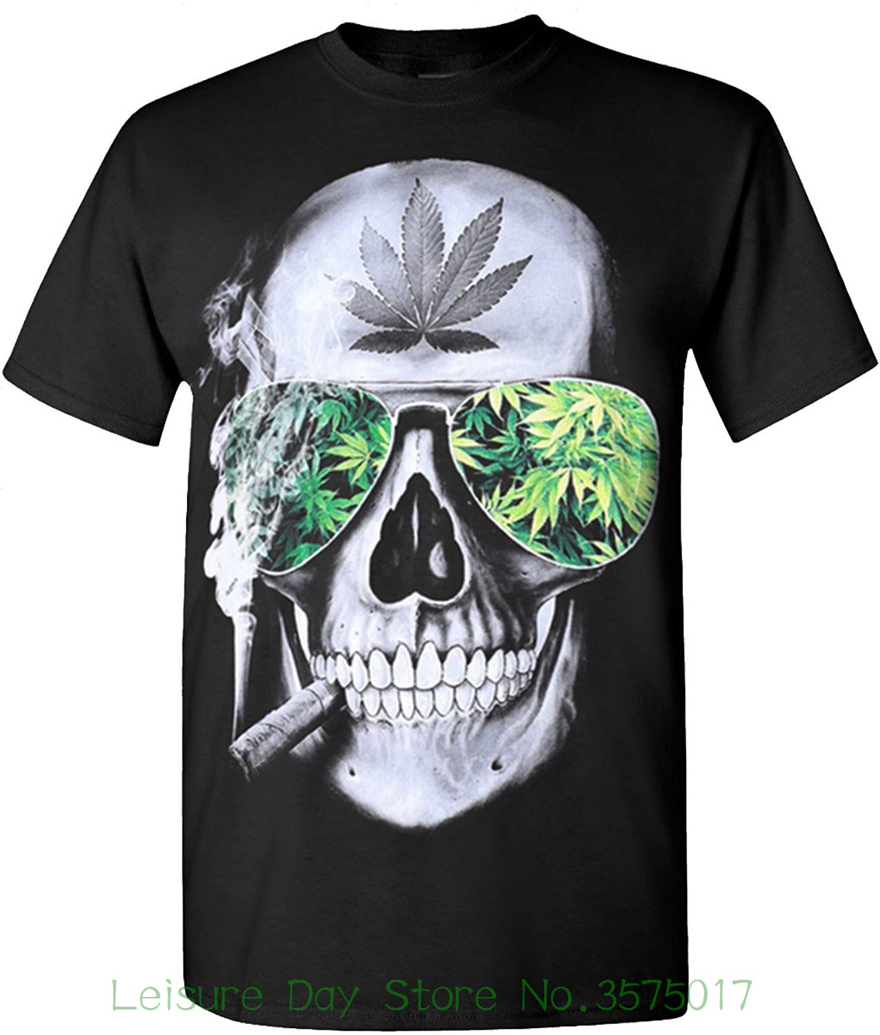 Short Sleeves Cotton Fashion T Shirt Free Shipping Skull Weed Blaze 420 Hip Hop Legend Rappers T Shirts ...