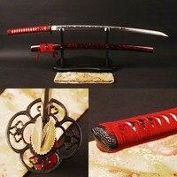 Brandon Swords High Quality Vintage Samurai Sword Full Tang Katana Handmade 1095 Carbon Steel Unokubitsukuri Blade Sharp Knife