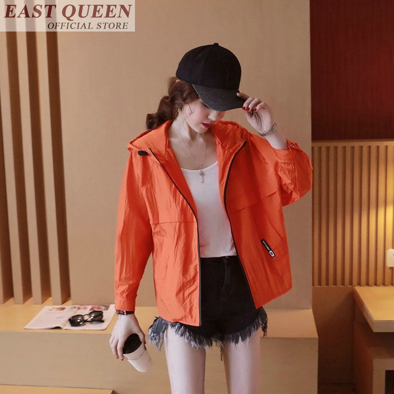 Women's   jacket   for outerwear o-neck full batwing sleeve streetwear zipper solid   basic     jacket   fashion female   jackets   DD719 L