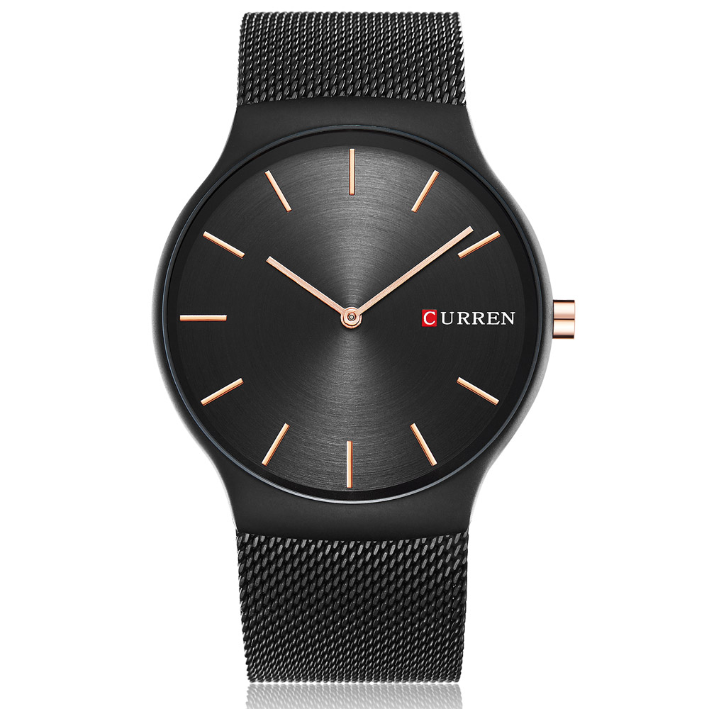 Curren Casual Mens Watches Top Brand Luxury Mens Quartz Watch Waterproof Sport Military Watches Men Full Steel Relogio Masculino curren watches mens luxury brand black full steel waterproof analog quartz watch men fashion casual business wristwatches 8050